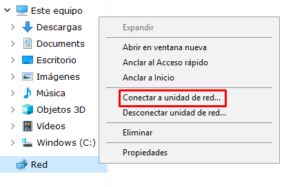 Como mapear Windows